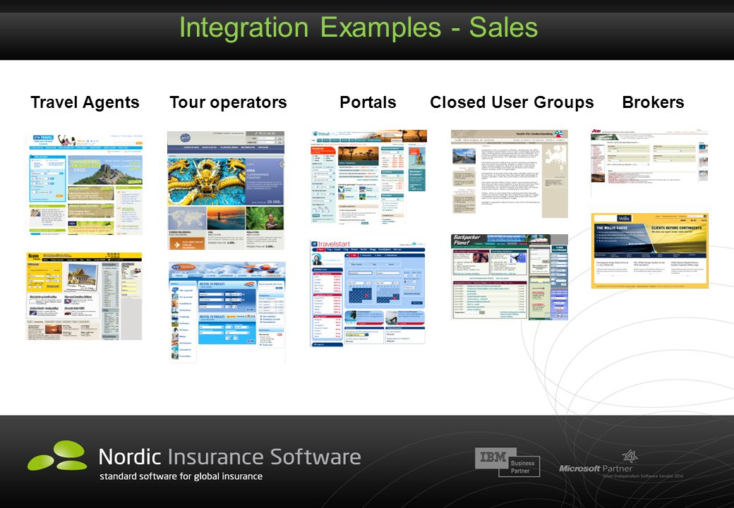 Integration Examples - Sales