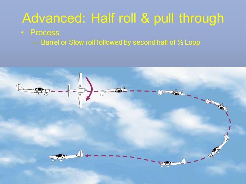 Advanced: Half roll & pull through