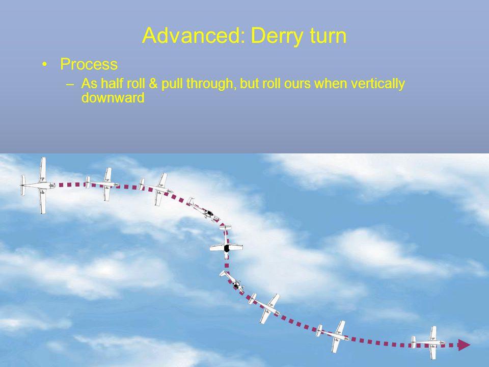 Advanced: Derry turn Process