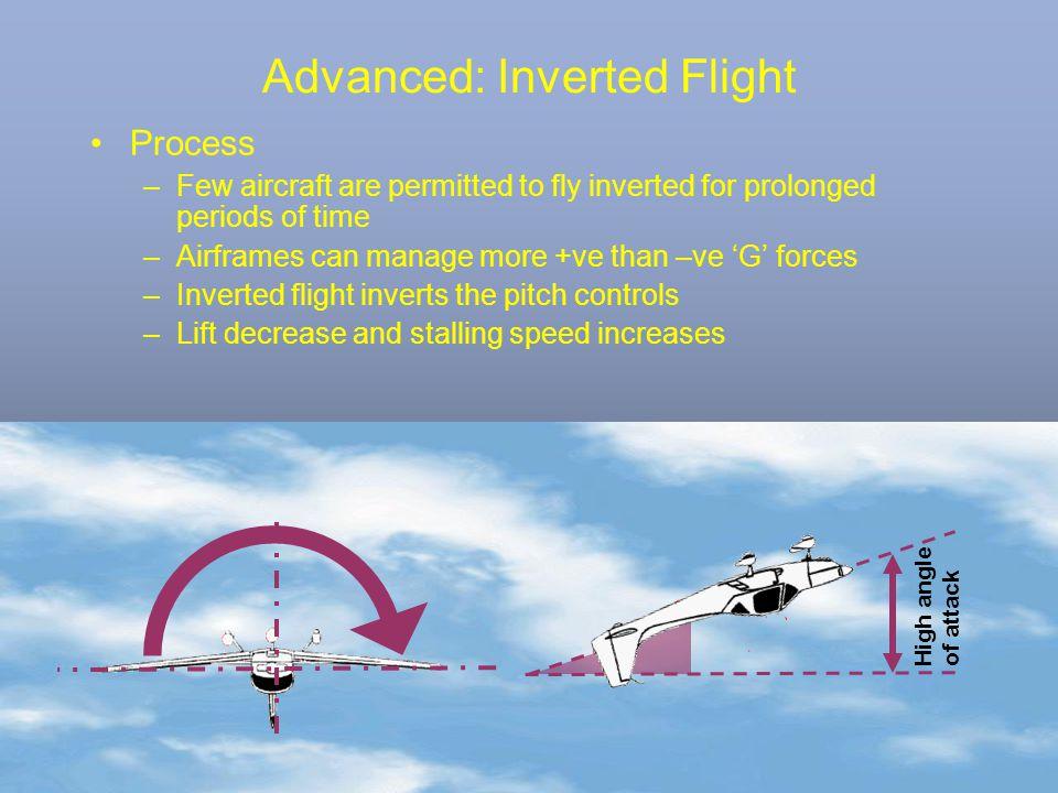 Advanced: Inverted Flight
