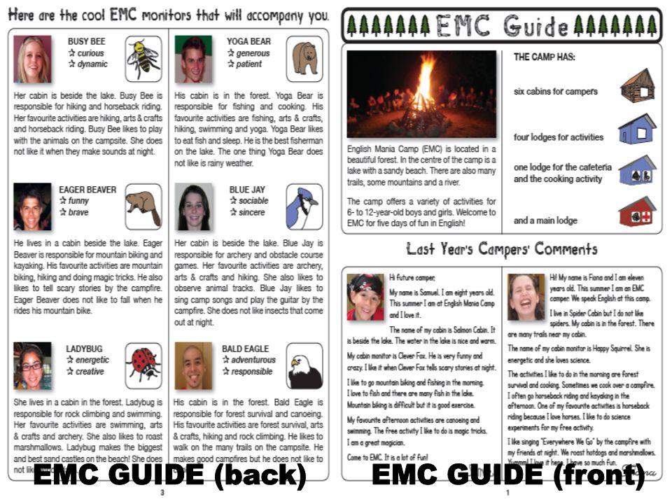 EMC GUIDE (back) EMC GUIDE (front)