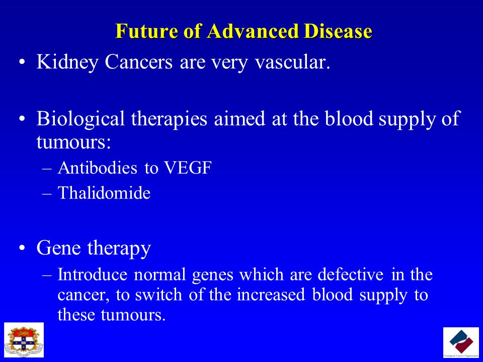 Future of Advanced Disease