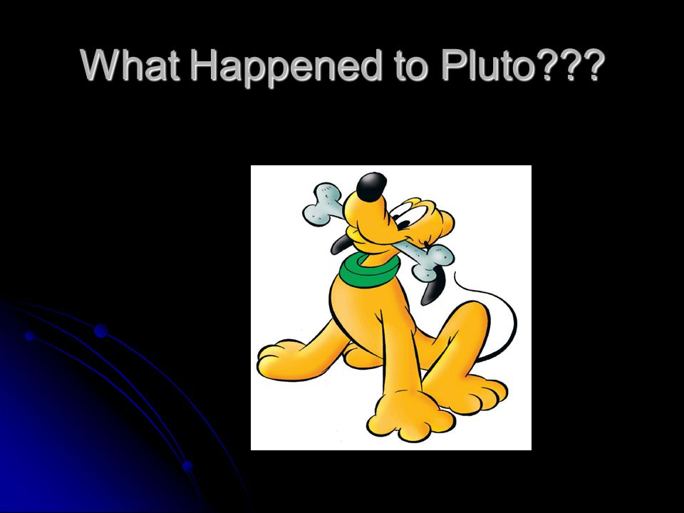 What Happened to Pluto