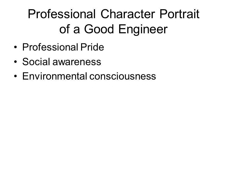 Professional Character Portrait of a Good Engineer
