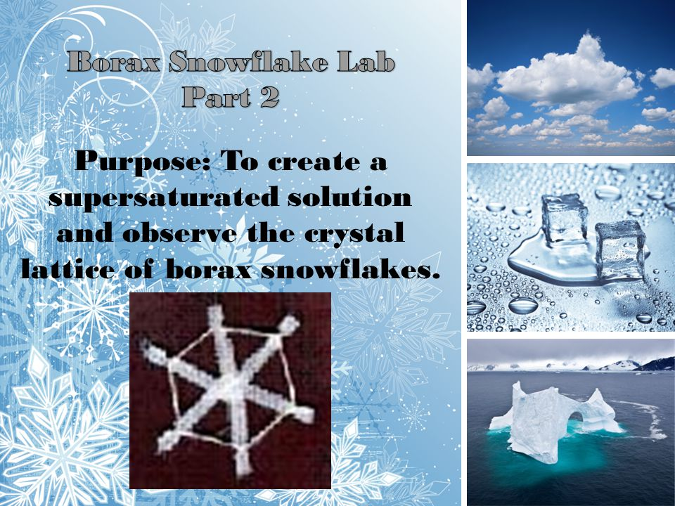 Borax Snowflake Lab Part 2.