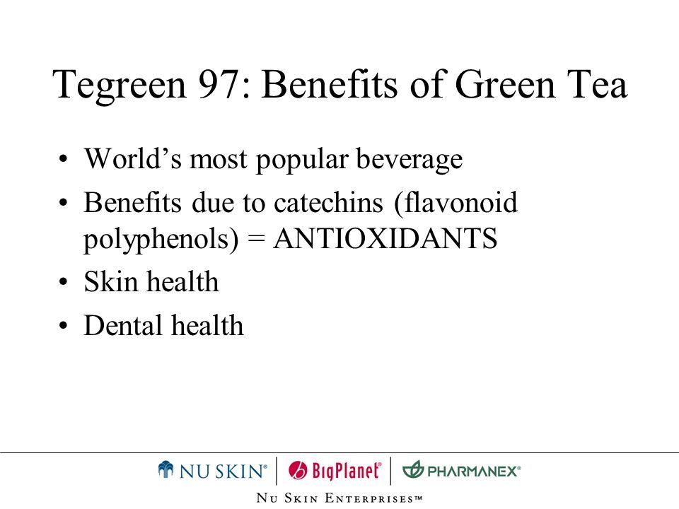 Tegreen 97: Benefits of Green Tea