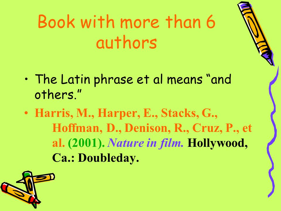 Book with more than 6 authors