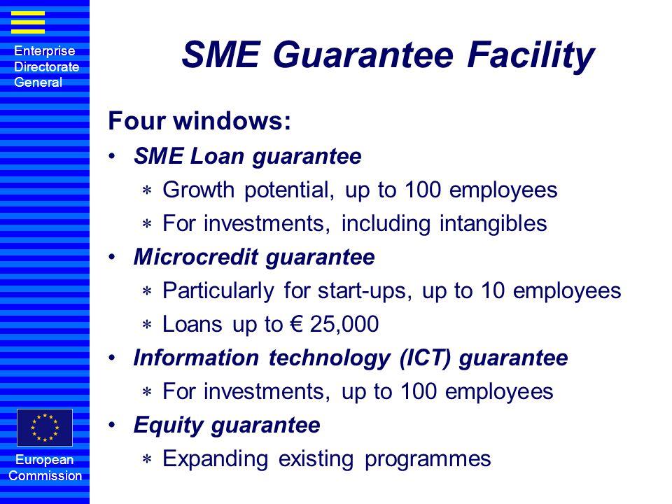 SME Guarantee Facility