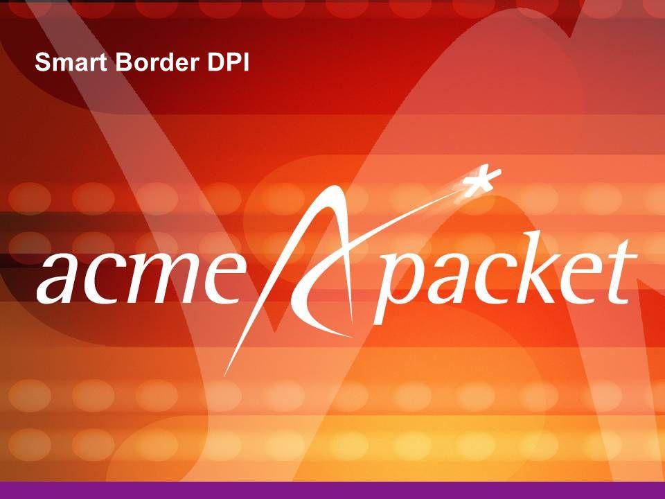 Smart Border DPI