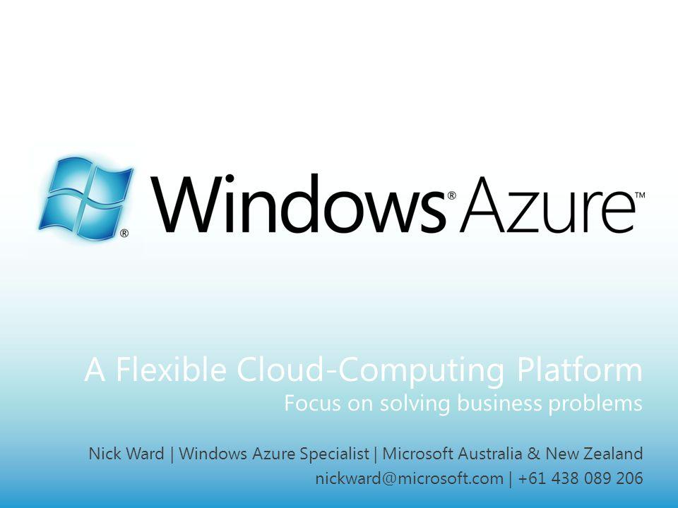 A Flexible Cloud-Computing Platform Focus on solving business problems