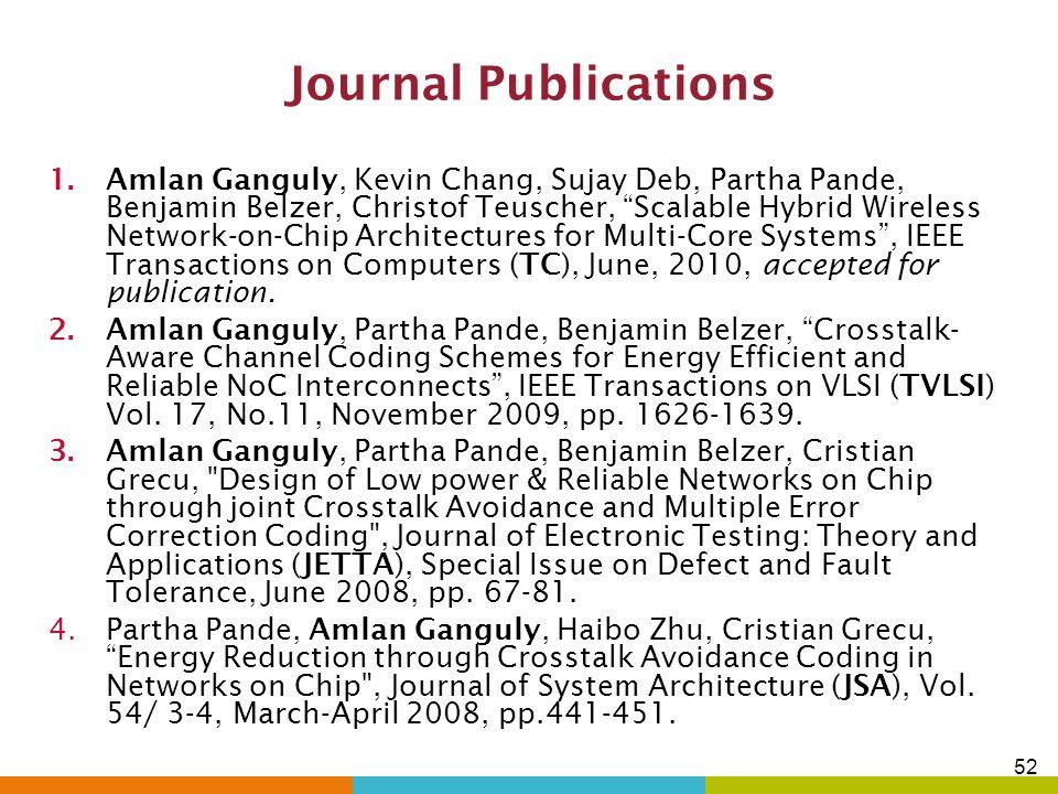 Journal Publications
