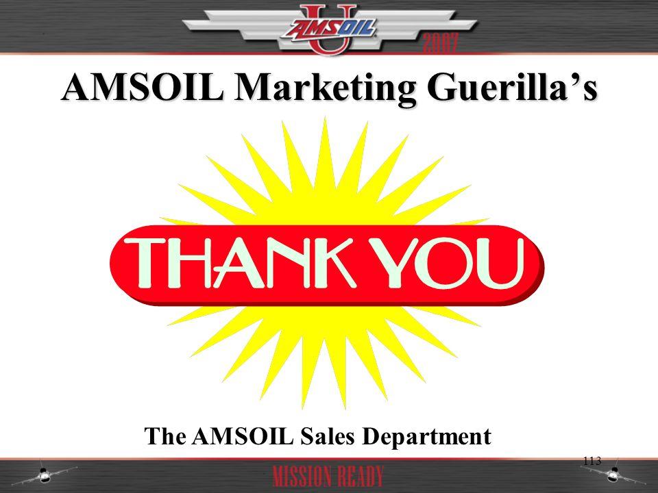 AMSOIL Marketing Guerilla's