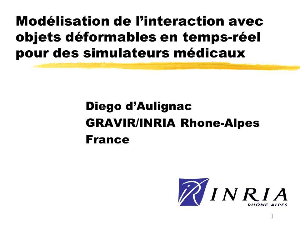 Diego d'Aulignac GRAVIR/INRIA Rhone-Alpes France