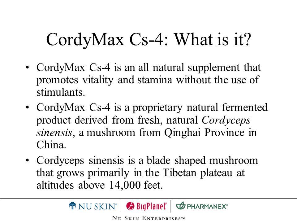 CordyMax Cs-4: What is it