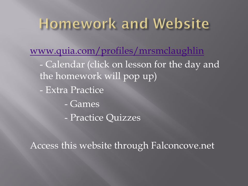 Contact Information Kami.mclaughlin@browardschools.com 754-323-3200