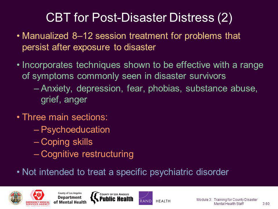 CBT for Post-Disaster Distress (2)