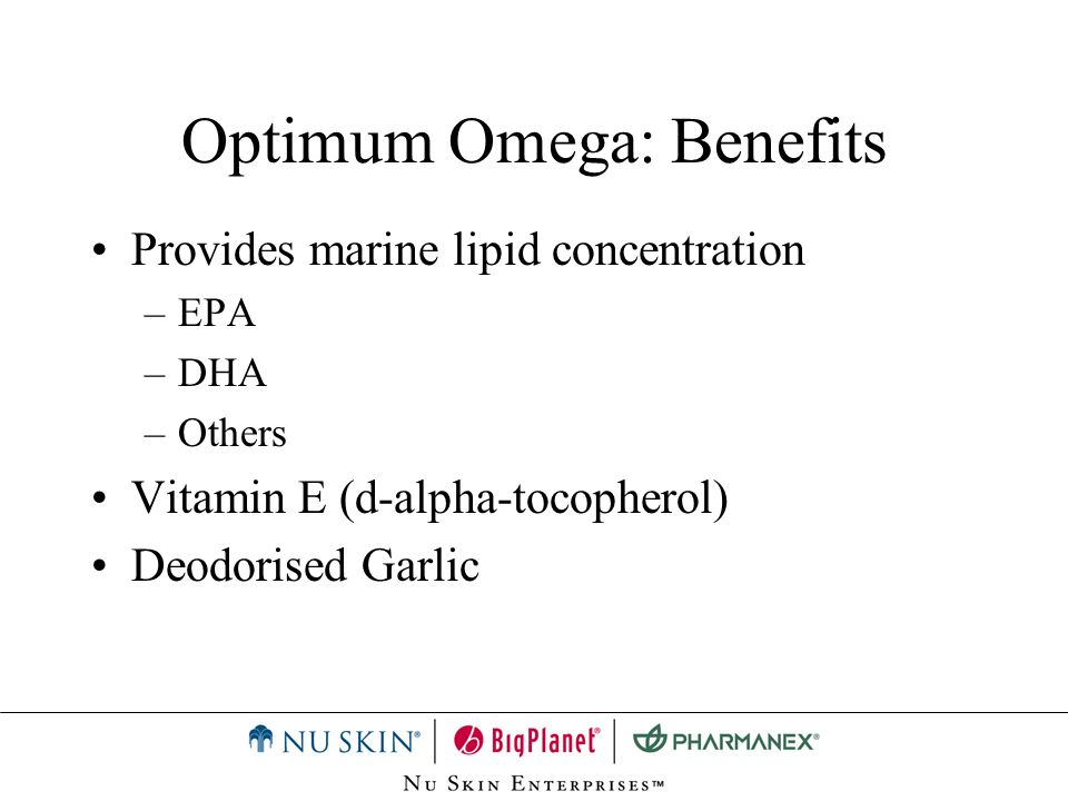 Optimum Omega: Benefits