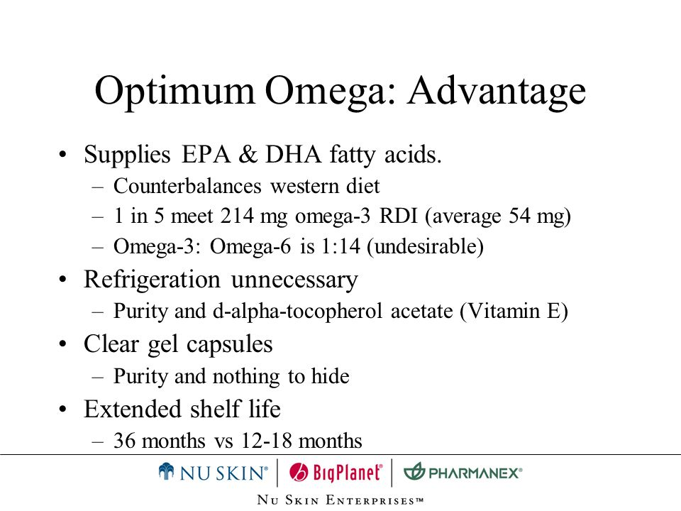 Optimum Omega: Advantage