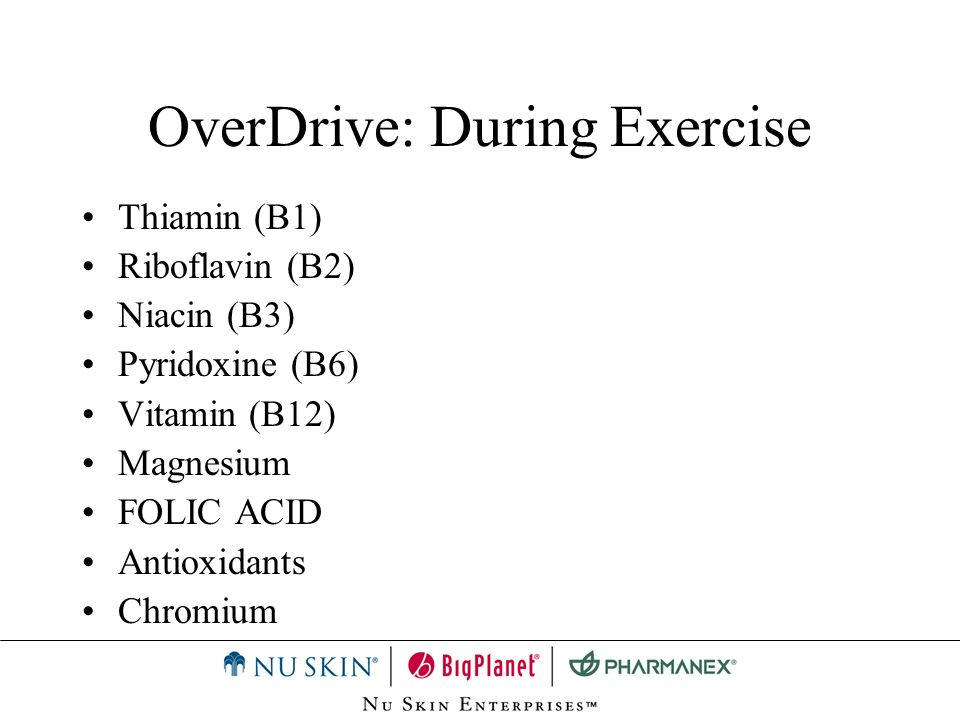 OverDrive: During Exercise