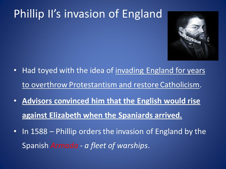 Phillip II's invasion of England