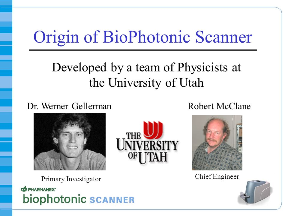 Origin of BioPhotonic Scanner
