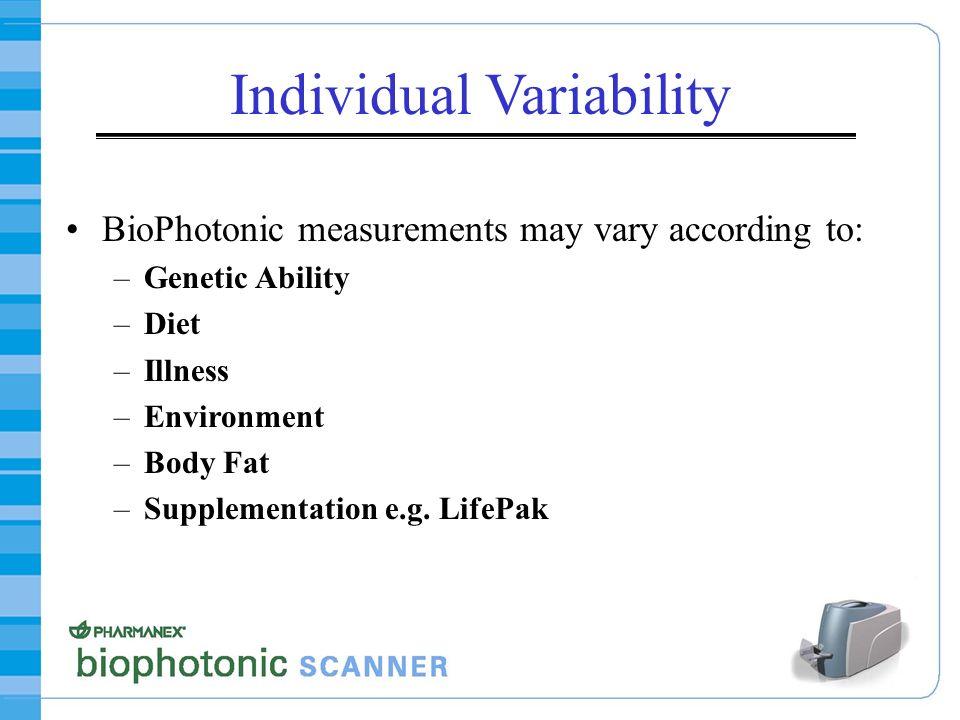 Individual Variability