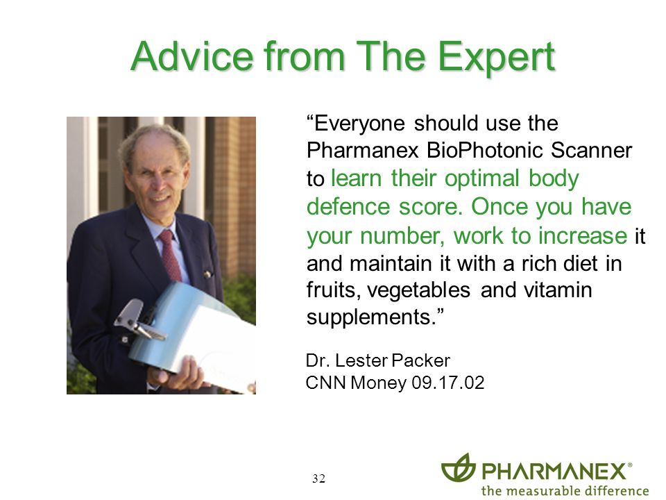 Advice from The Expert