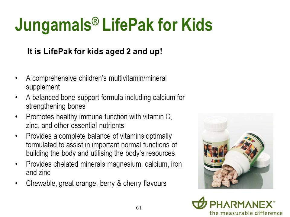 Jungamals® LifePak for Kids