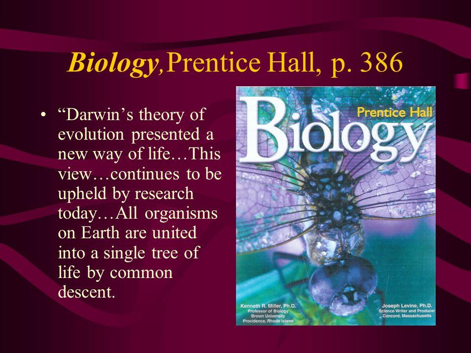 Biology,Prentice Hall, p. 386