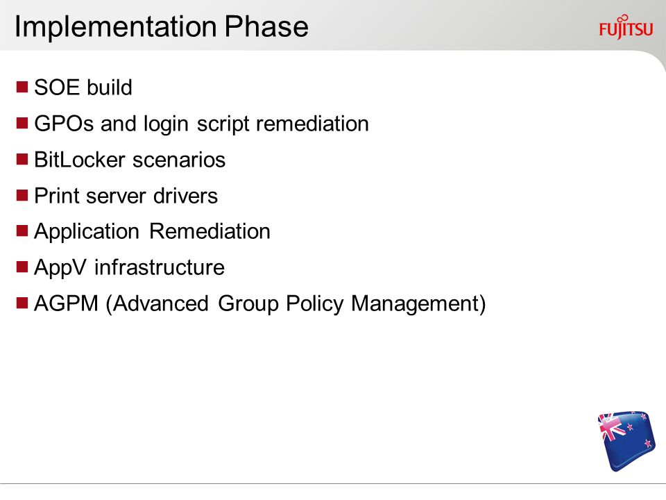 Implementation Phase SOE build GPOs and login script remediation