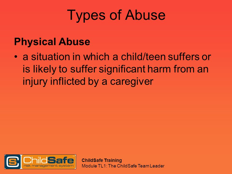 Types of Abuse Physical Abuse