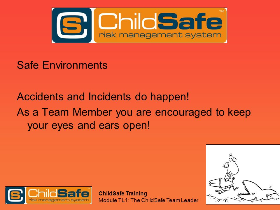 Accidents and Incidents do happen!