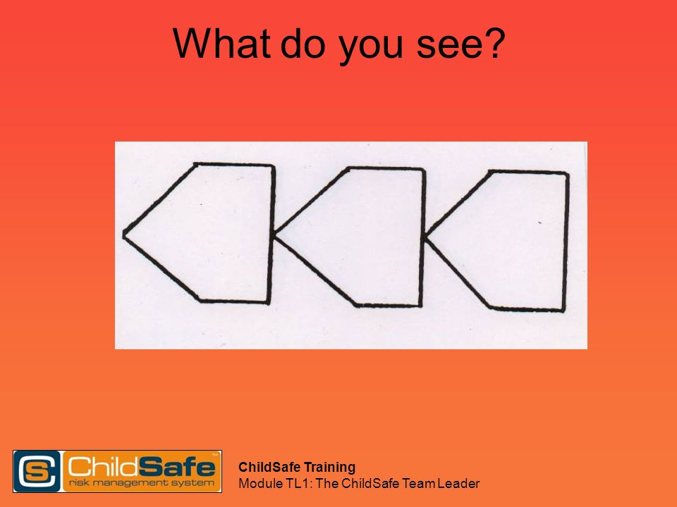 What do you see ChildSafe Training