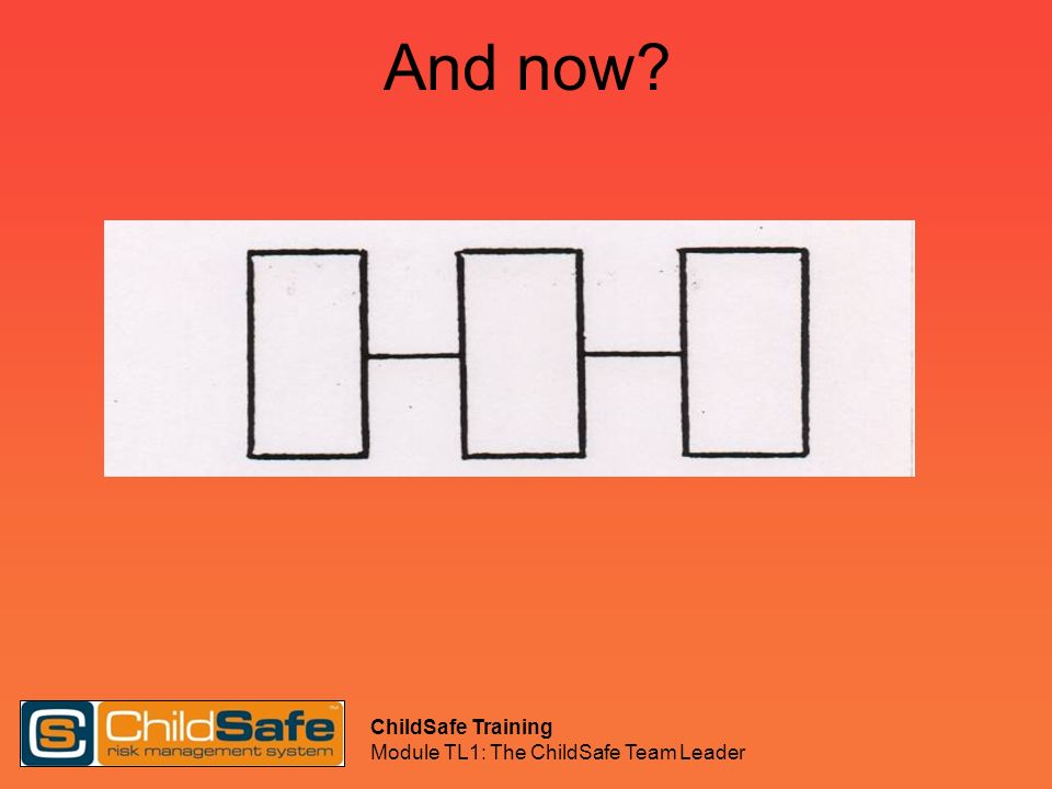 And now ChildSafe Training Module TL1: The ChildSafe Team Leader