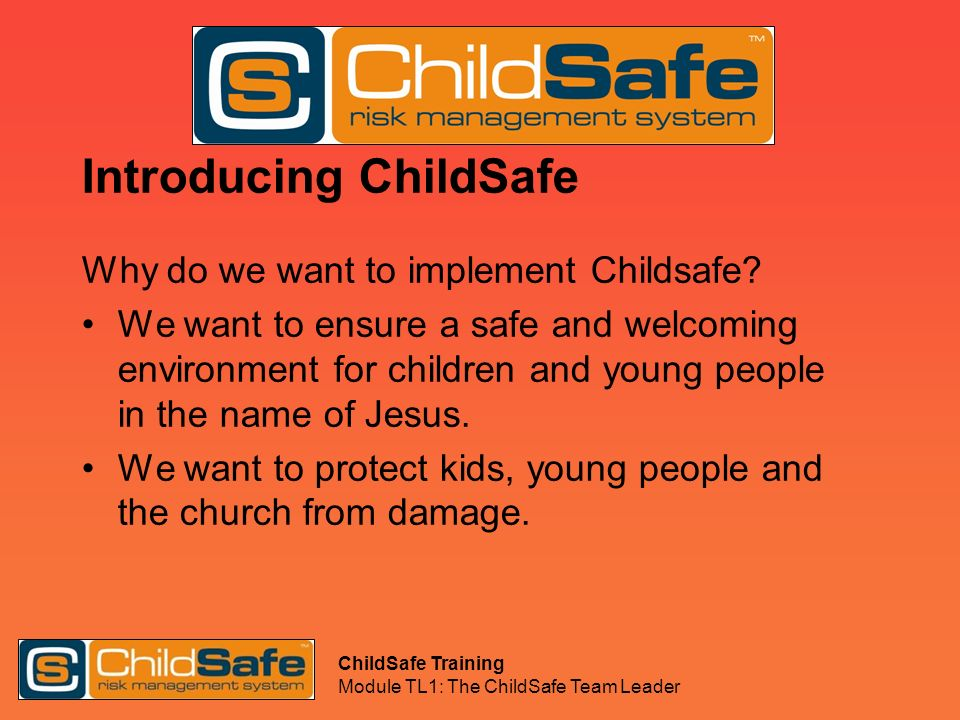 Introducing ChildSafe