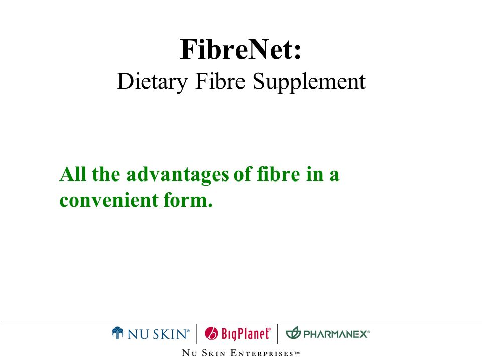 FibreNet: Dietary Fibre Supplement