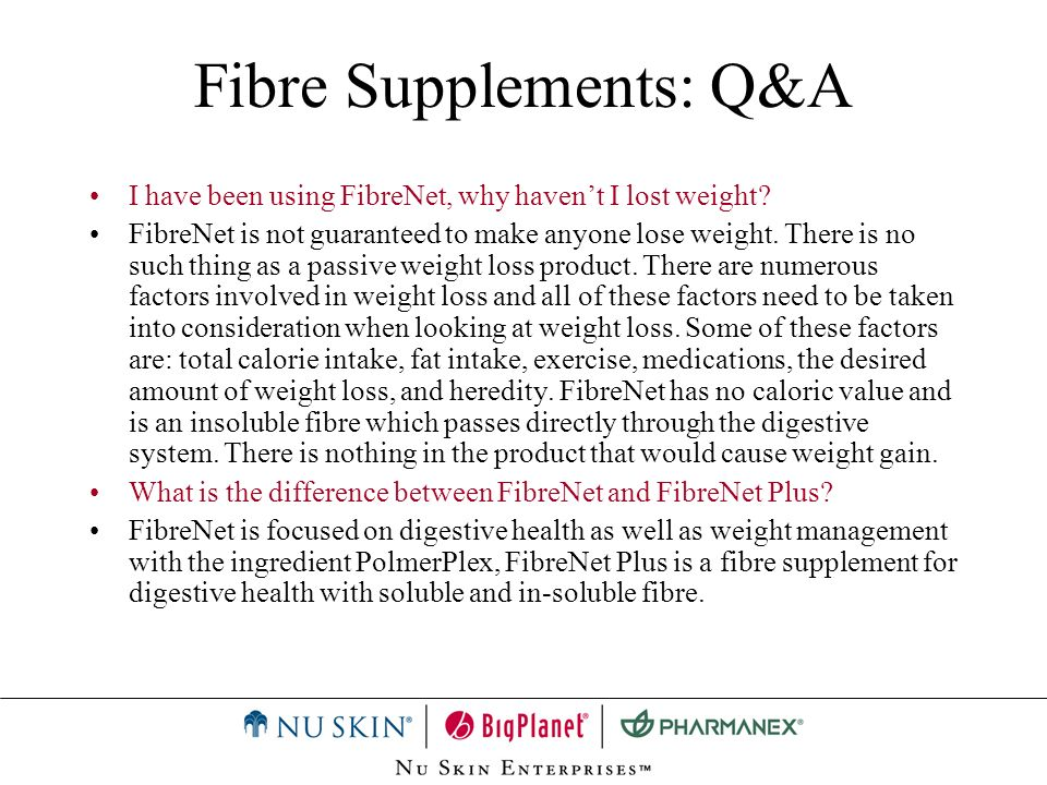 Fibre Supplements: Q&A