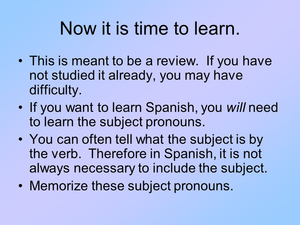 Now it is time to learn. This is meant to be a review. If you have not studied it already, you may have difficulty.