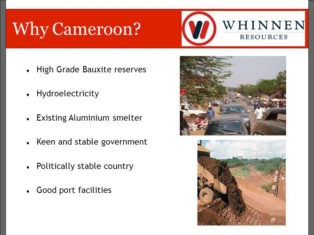 Why Cameroon High Grade Bauxite reserves Hydroelectricity