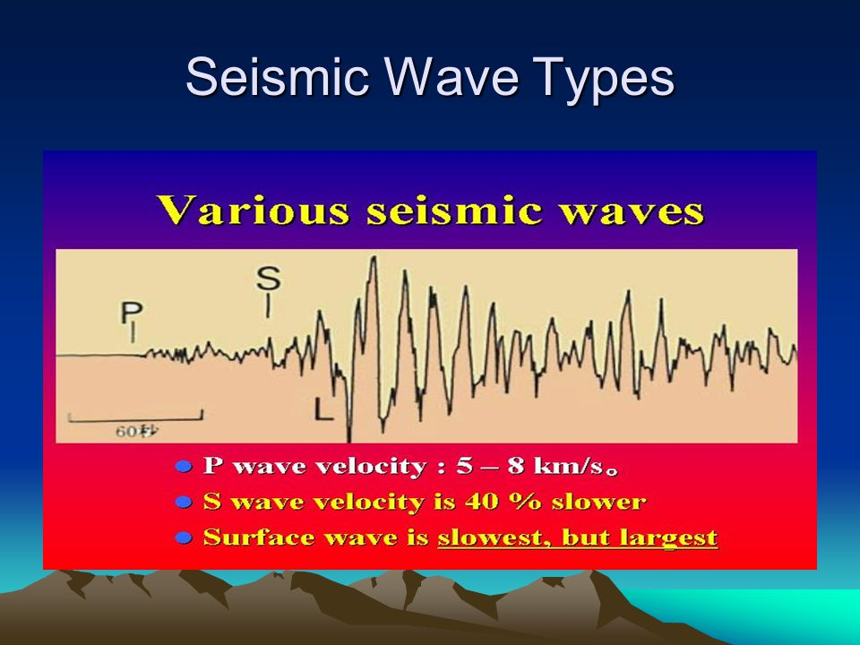 Seismic Wave Types