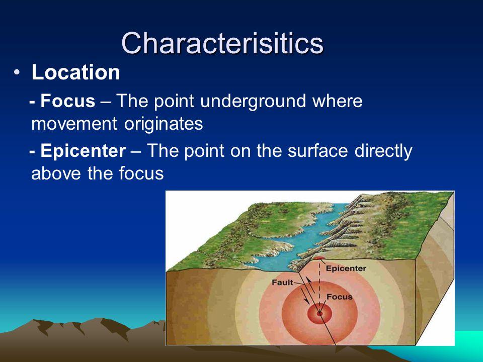 Characterisitics Location