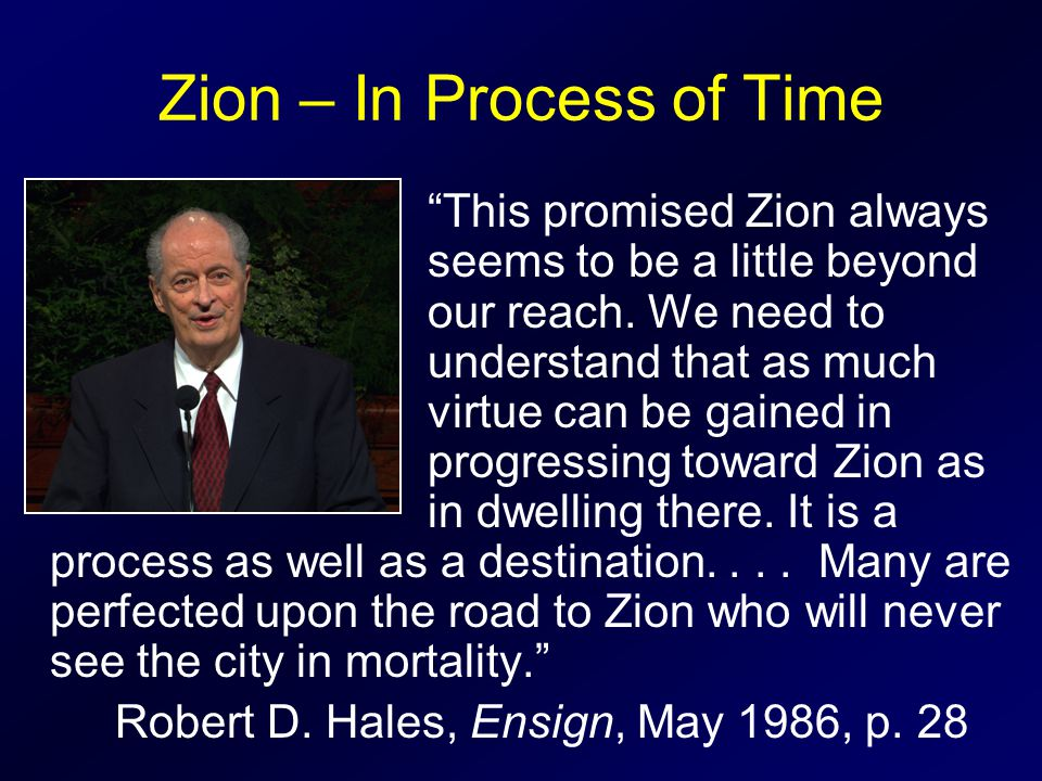 Zion – In Process of Time
