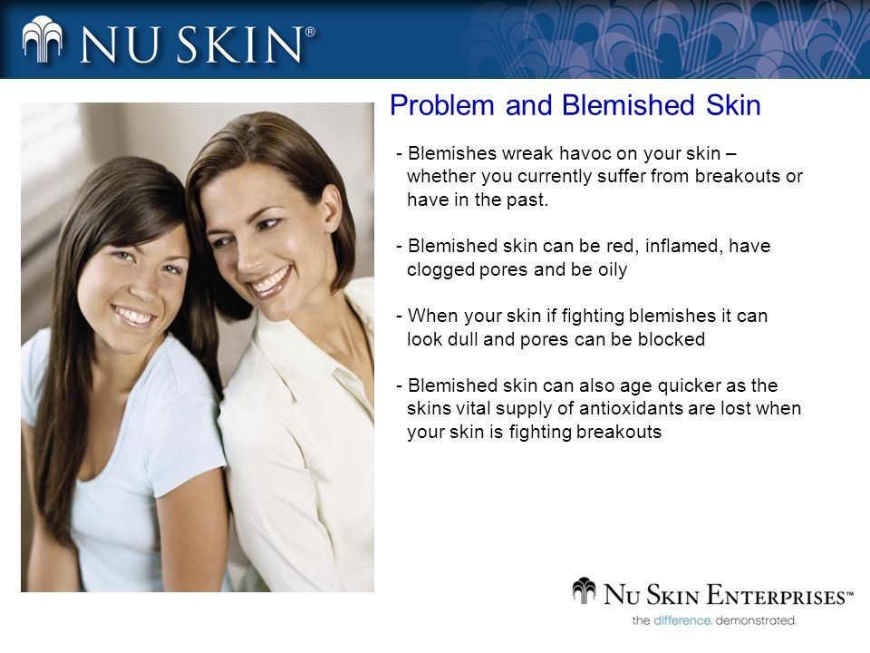 Problem and Blemished Skin