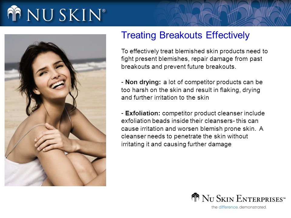 Treating Breakouts Effectively