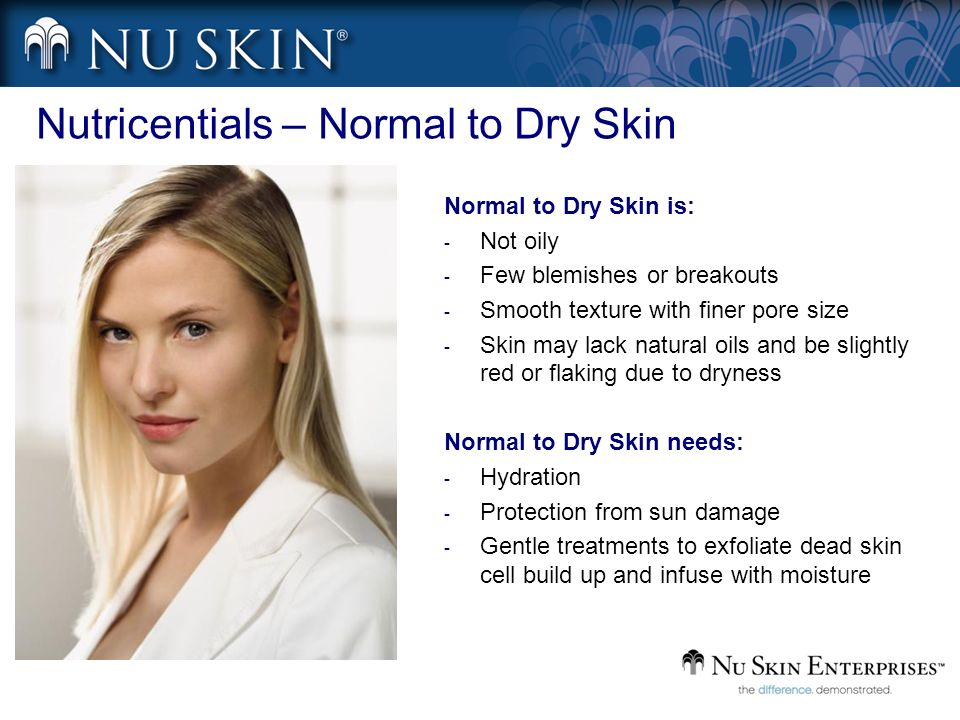 Nutricentials – Normal to Dry Skin