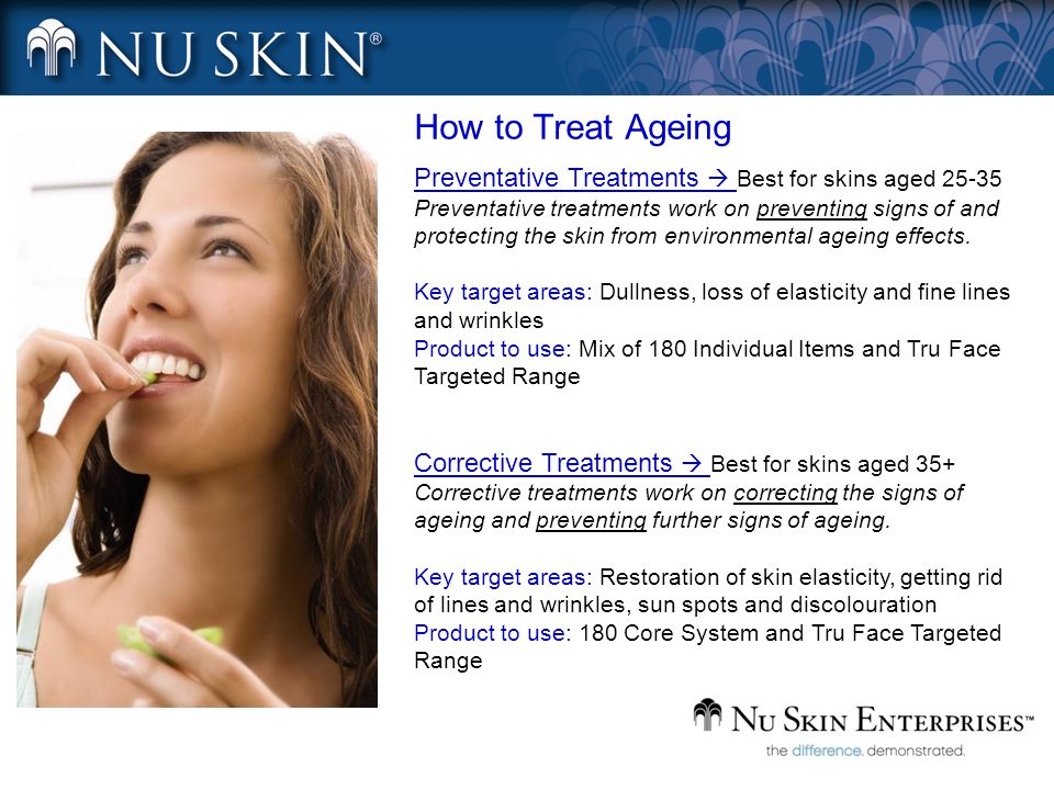 How to Treat Ageing Preventative Treatments  Best for skins aged 25-35.