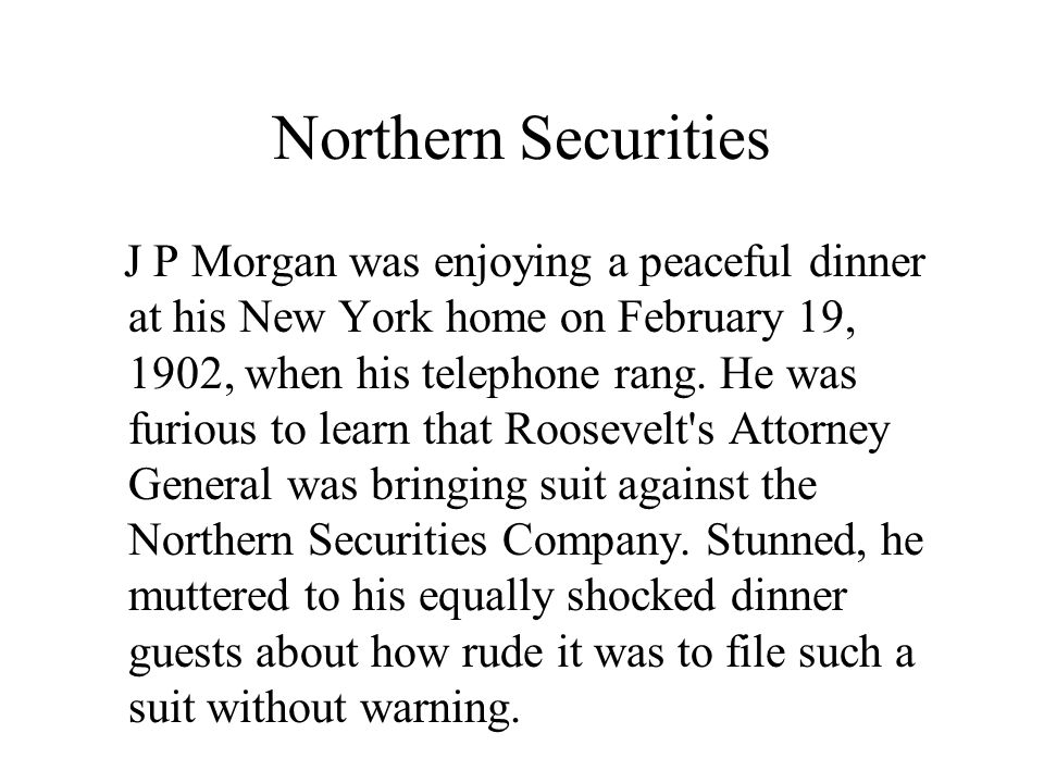Northern Securities