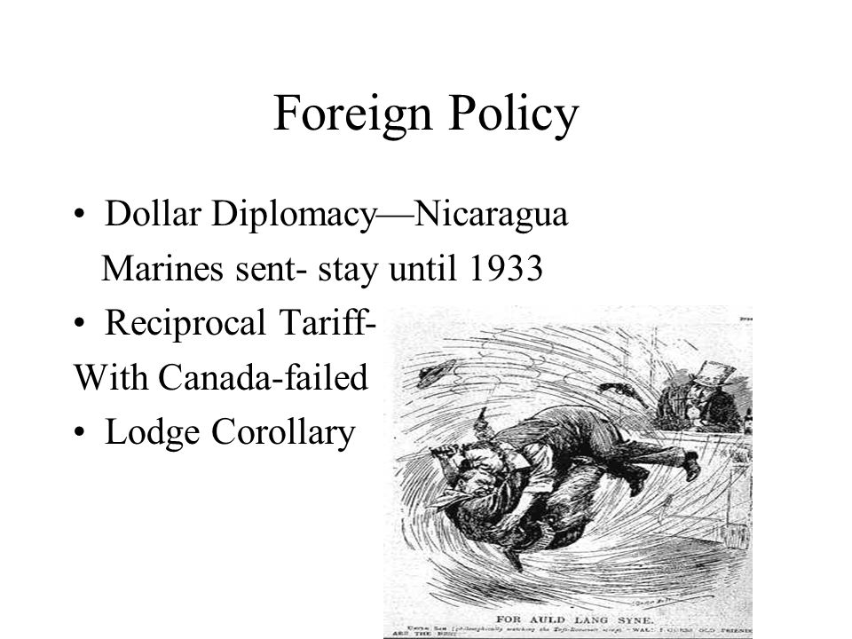 Foreign Policy Dollar Diplomacy—Nicaragua