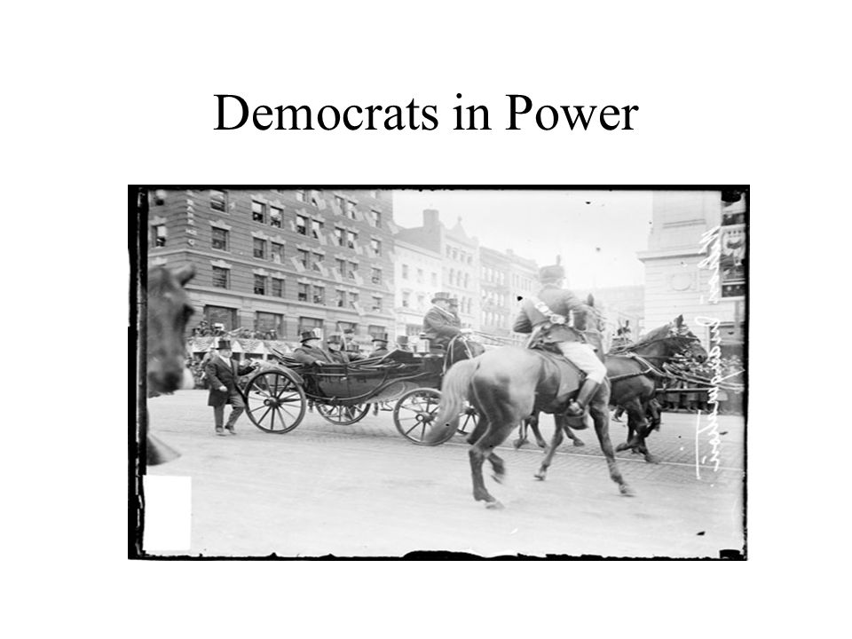 Democrats in Power