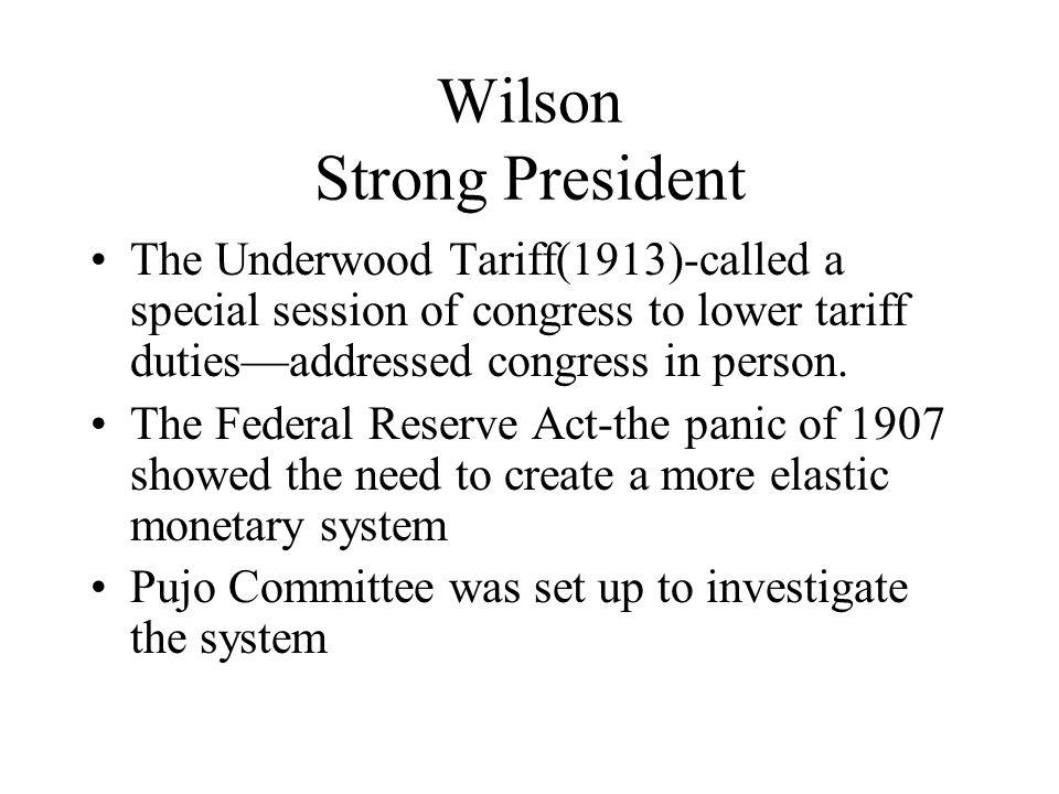 Wilson Strong President